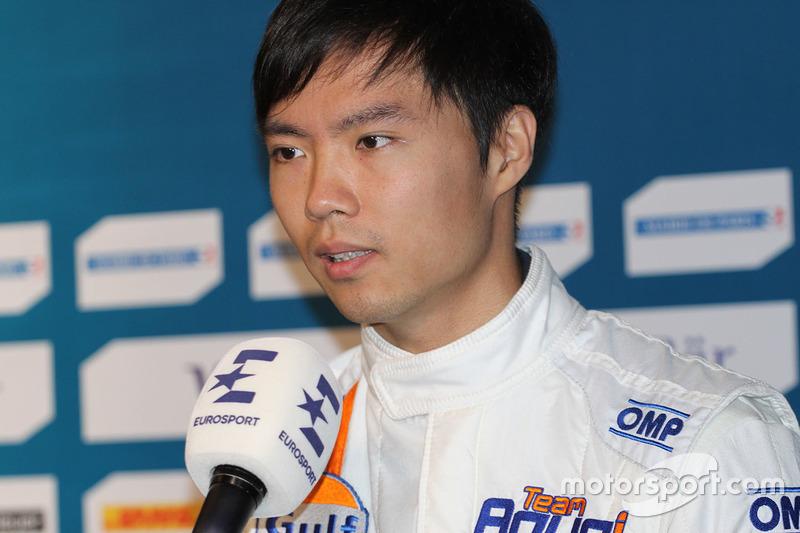 Ma Qing Hua, Team Aguri