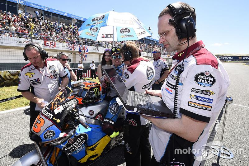 Tito Rabat, Marc VDS Racing Honda on the grid