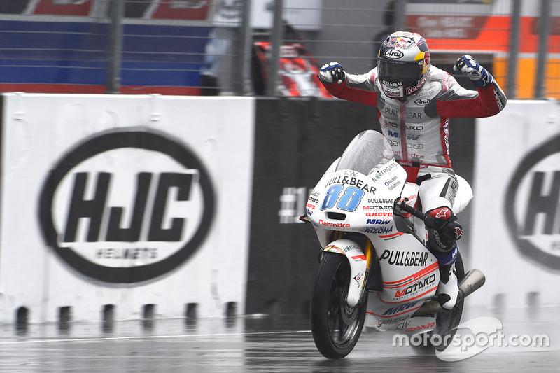 Il secondo classificato Jorge Martin, Aspar Team Mahindra