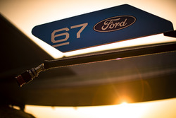 Sign #67 Ford Chip Ganassi Racing Team UK Ford GT: Andy Priaulx, Harry Tincknell