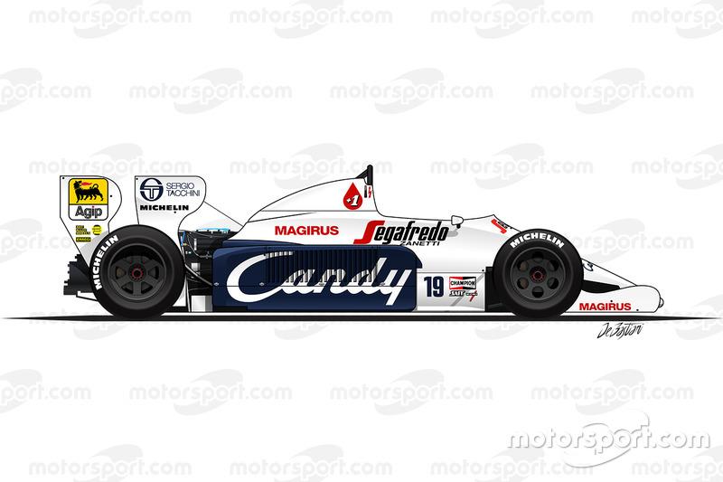 Toleman TG184 de Ayrton Senna (1984)
