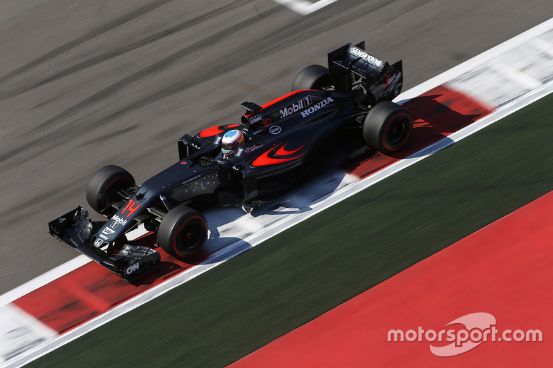 2016 : McLaren MP4-31, à moteur Honda