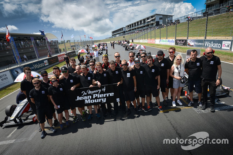 Group photo in memory of Jean Pierre Moury