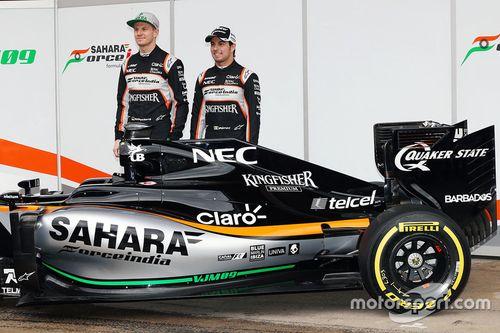 Lanzamiento del Force India VJM09