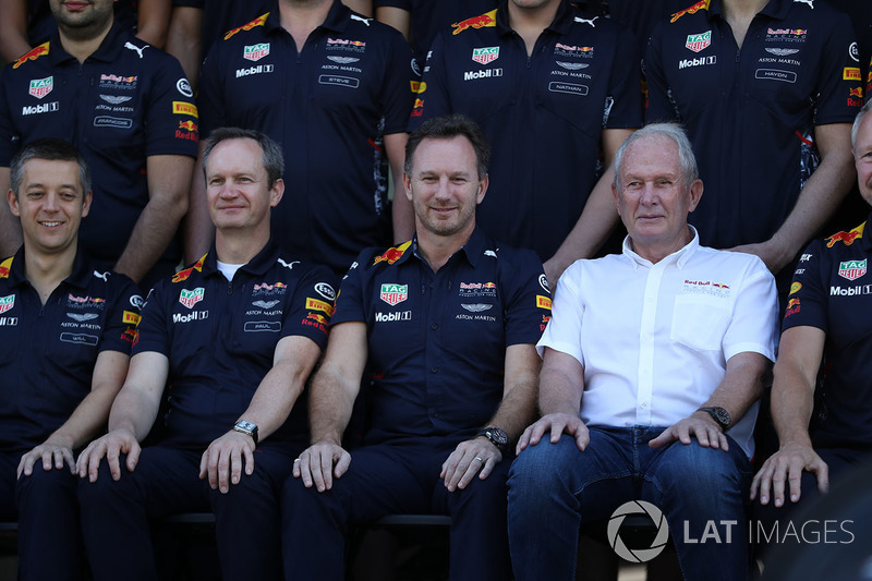Paul Monaghan, Red Bull Racing Baş Mühendisi, Christian Horner, Red Bull Racing Takım Patronu ve Dr