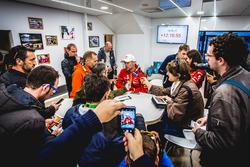Kris Meeke, Citroën World Rally Team con los medios