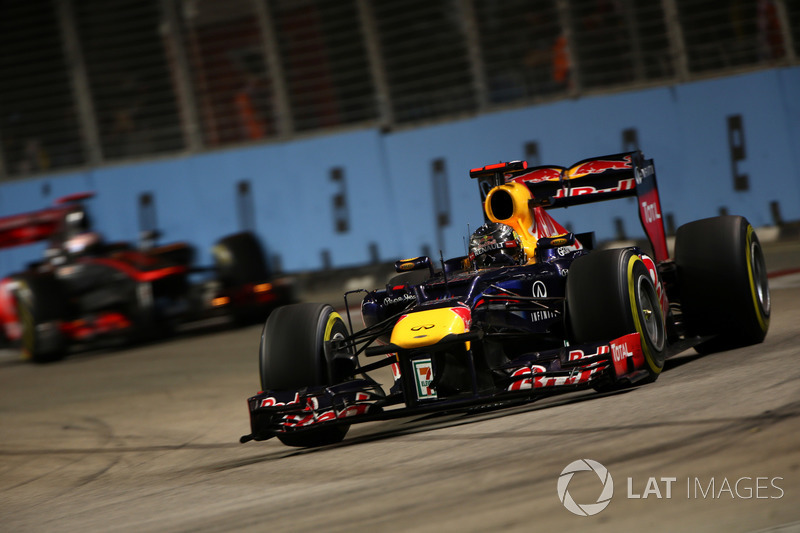 2012: Себастьян Феттель, Red Bull RB8 Renault