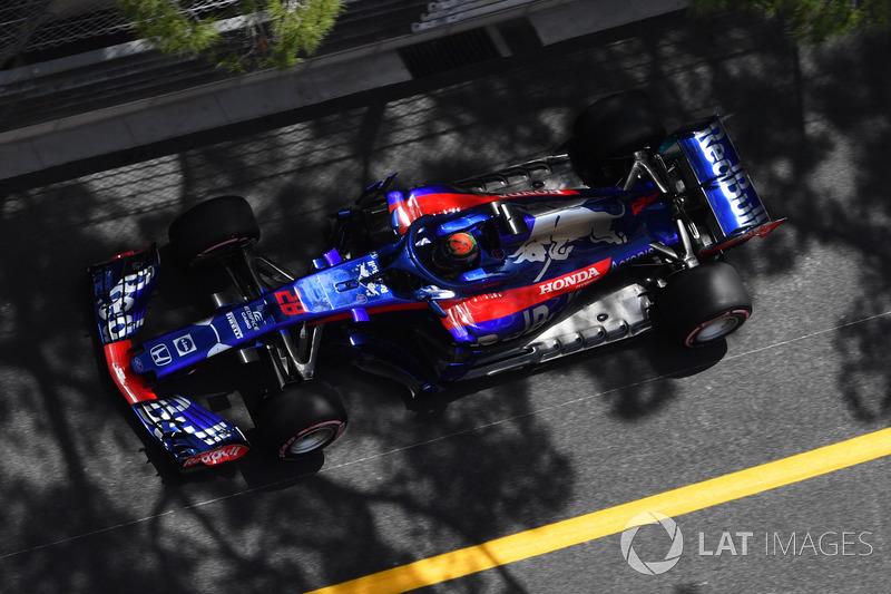 15. Brendon Hartley, Scuderia Toro Rosso STR13