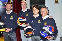 Frits van Eerd, Giedo van der Garde, Jan Lammers et Nyck de Vries, Racing Team Nederland