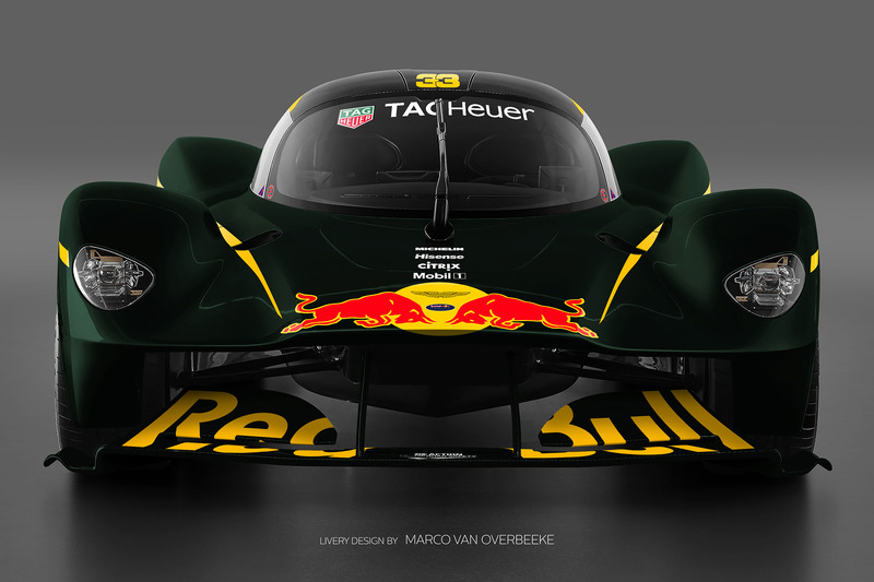 Valkyrie Red Bull livery 3a