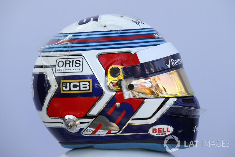 Sergey Sirotkin, Williams helmet
