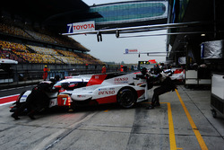 Экипаж №7 команды Toyota Gazoo Racing, Toyota TS050 Hybrid: Майк Конвей, Камуи Кобаяши, Хосе Мария Лопес