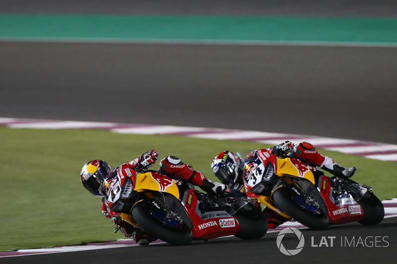 Jake Gagne, Honda World Superbike Team, Davide Giugliano, Honda World Superbike Team