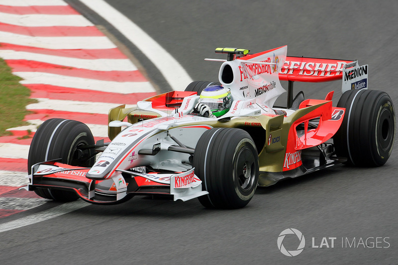 2008: Force India-Mercedes VJM01