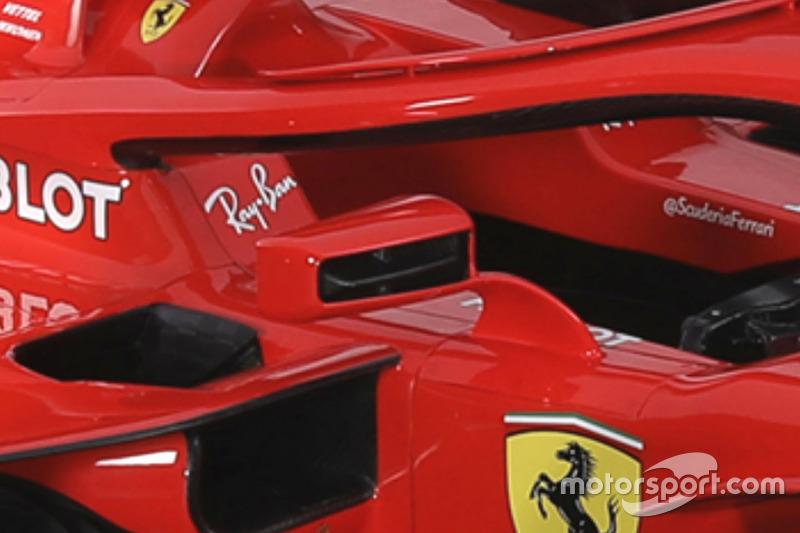 Аэродинамический элемент зеркала заднего вида Ferrari SF71H