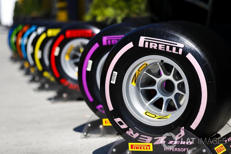 Línea de neumáticos pirelli