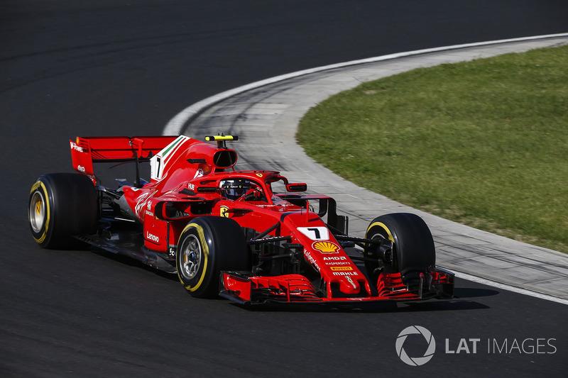 Ferrari can't understand Raikkonen's exact query regarding drinks bottle