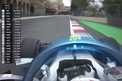 F1 Halo TV graphic, Mercedes F1 (Screenshot)
