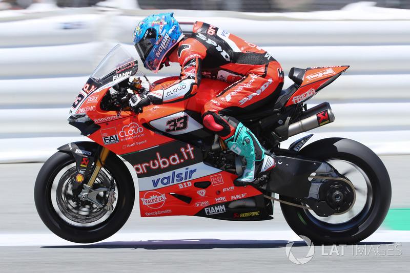 5e : Marco Melandri, Aruba.it Racing-Ducati SBK Team
