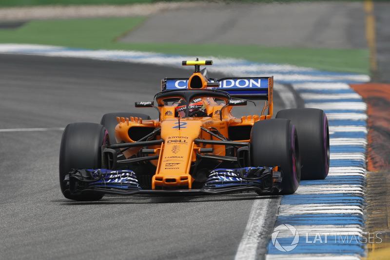 Stoffel Vandoorne - McLaren: 6