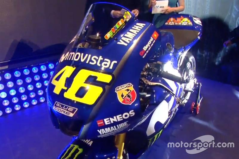 La Yamaha YZR-M1 de Valentino Rossi, Yamaha Factory Racing