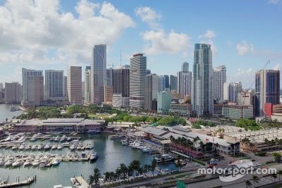 迈阿密F1赛道构想图