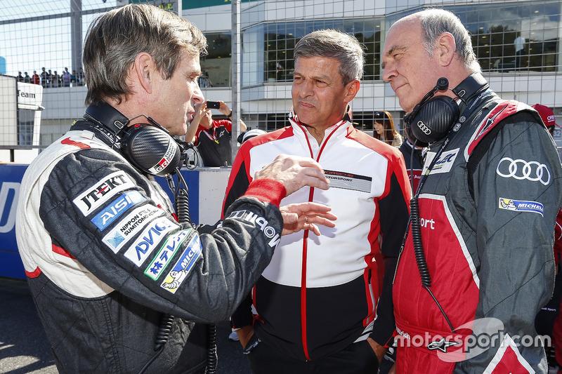 Pascal Vasselon, Toyota Racing, Technischer Direktor, Fritz Enzinger, Vizepräsident LMP1, Porsche Team, Dr. Wolfgang Ullrich, Leiter Audi Sport