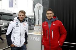 Die aussichtsreichsten Titelkandidaten 2016: Marco Wittmann (BMW) und Edoardo Mortara (Audi)