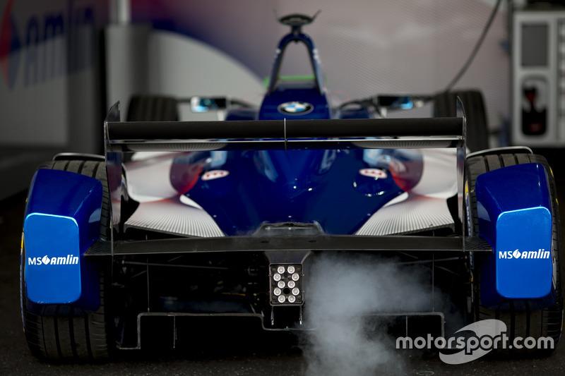 Car of Amlin Andretti Formula E Team