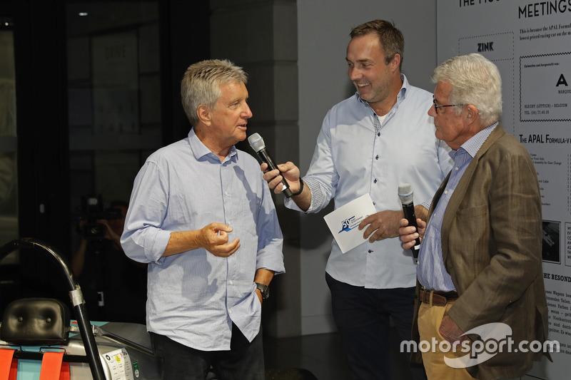 Klaus Niedzwiedz, Patrick Simon, Rainer Braun at the Opening event