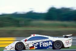 #42 Team BMW Motorsport McLaren F1 GTR BMW:Джейджей Лето, Стив Соупер, Нельсон Пике