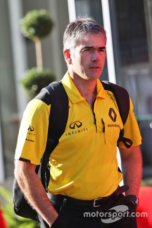 Nick Chester, Direttore Tecnico telaio Renault Sport F1 Team