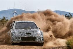 トヨタ・ヤリスWRC開発テスト