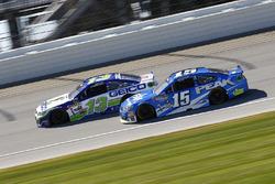 Casey Mears, Germain Racing Chevrolet, Clint Bowyer, HScott Motorsports Chevrolet