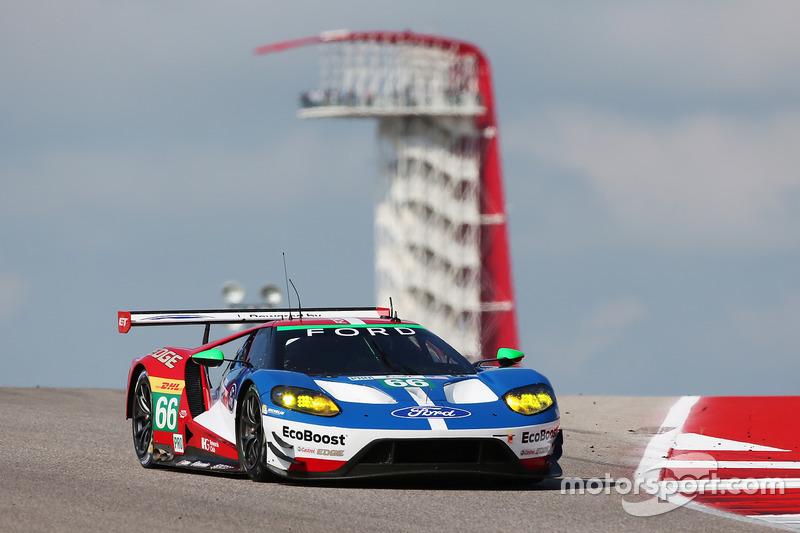 3. GTE-Pro: #66 Ford Chip Ganassi Racing Team UK, Ford GT: Olivier Pla, Stefan Mücke