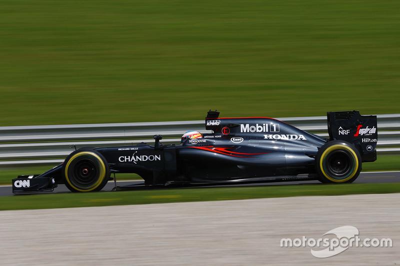 14: Фернандо Алонсо, McLaren MP4-31