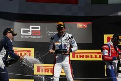 Alexander Albon, ART Grand Prix, Oscar Tunjo, Jenzer Motorsport and Antonio Fuoco, Trident