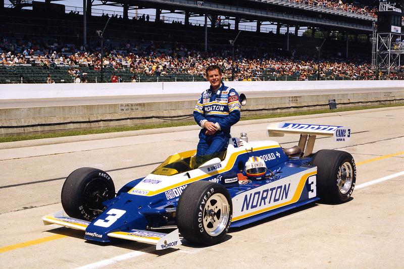 Le vainqueur Bobby Unser, Penske/Cosworth