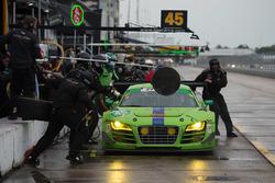 #45 Flying Lizard Motorsports, Audi R8 LMS: Nic Jonsson, Pierre Kaffer, Tracy Krohn