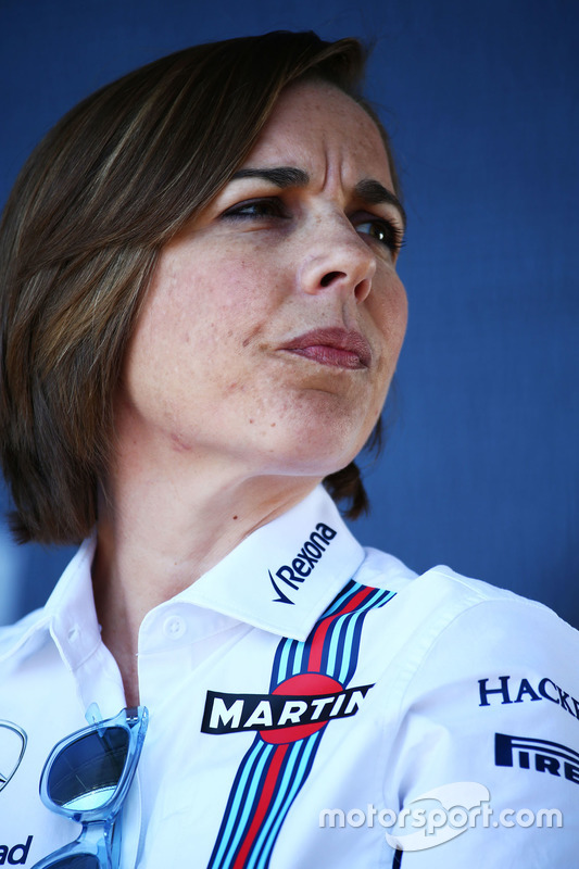 Claire Williams, Williams afgevaardigd teambaas