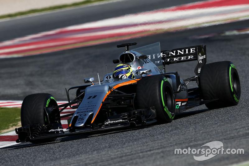 #10: Force India F1 VJM10