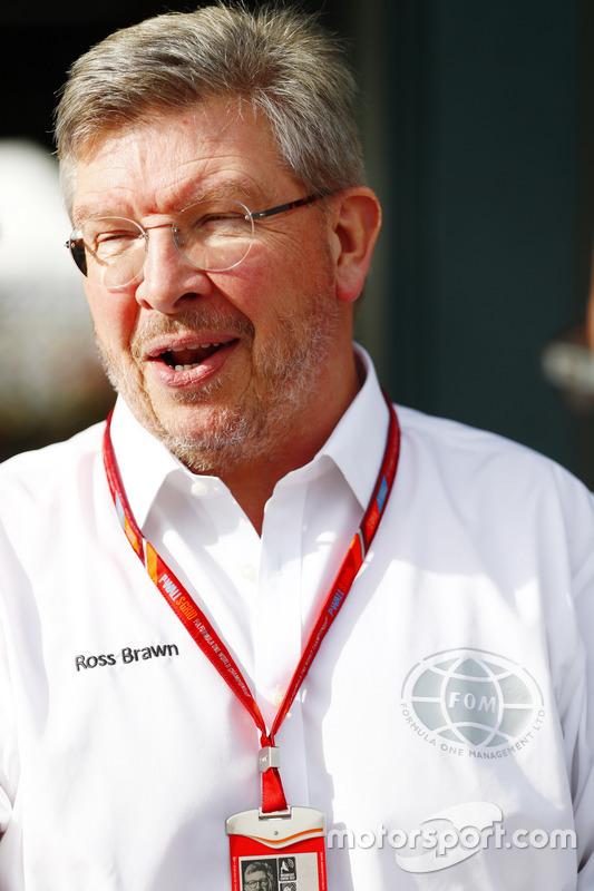 Ross Brawn, director deportivo de la FOM