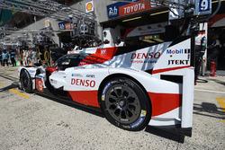 #9 Toyota Gazoo Racing Toyota TS050 Hybrid: Хосе Марія Лопес, Юдзі Кунімото, Ніколя Лап'єрр