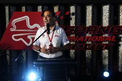 Tan Sri Azman, Chairman of Sepang International Circuit at Petronas BBQ