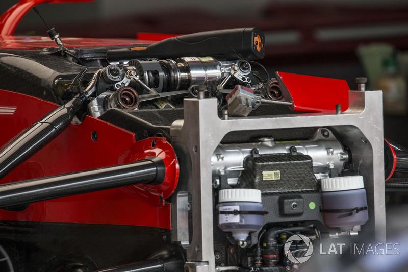 Ferrari SF70H: Radaufhängung