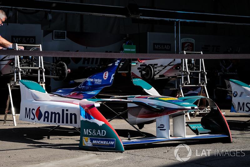 Amlin Andretti Formula E Team garajes