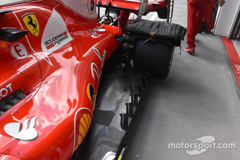 Днище Ferrari SF70-H