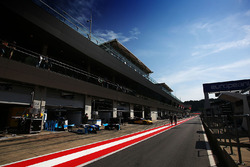 Boxengasse am Red-Bull-Ring in Spielberg