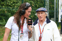 Jackie Stewart, talks, Alexandra Legouix, TV Presenter