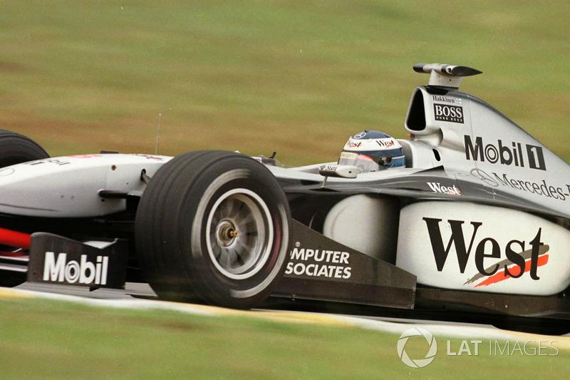 Ganador del GP de Brasil 1998: Mika Hakkinen, McLaren MP4/13